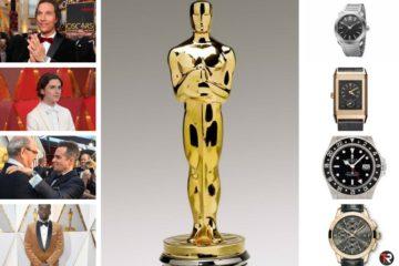 Relógios Oscar 2018