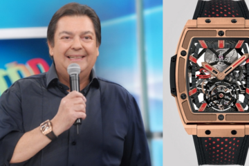 Relógios do Faustão - HUBLOT MP-06 SENNA KING GOLD