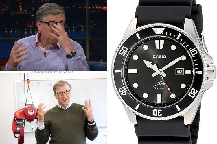 CASIO DURO BILL GATES - Relógio CASIO DURO:  O Diver mais barato do mundo!